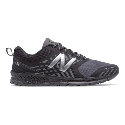 Mens New Balance Nitrel Trail Running Shoe - Black/Castlerock 9.5