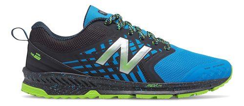 Mens New Balance Nitrel Trail Running Shoe - Black/Bolt 9