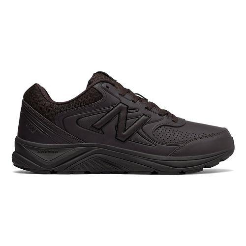 Mens New Balance 840v2 Walking Shoe - Brown/Black 11.5