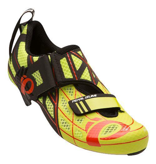 Pearl Izumi Tri Fly Pro V3 Cycling Shoe - Lime/Black 8.5