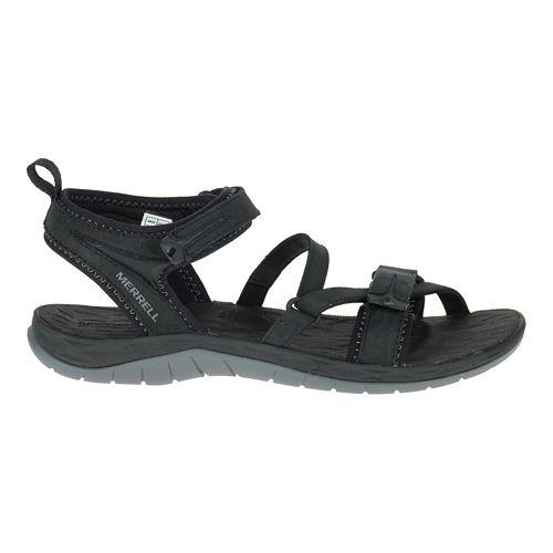 Womens Merrell Siren Strap Q2 Sandals Shoe - Black 7