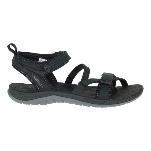 Womens Merrell Siren Strap Q2 Sandals Shoe - Black 8