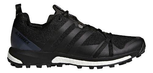 Mens adidas Terrex Agravic Trail Running Shoe - Black/Grey 8.5