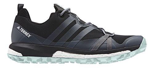 Womens adidas Terrex Agravic Trail Running Shoe - Black/Grey 10