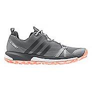 Womens adidas Terrex Agravic Trail Running Shoe - Grey/Coral 9