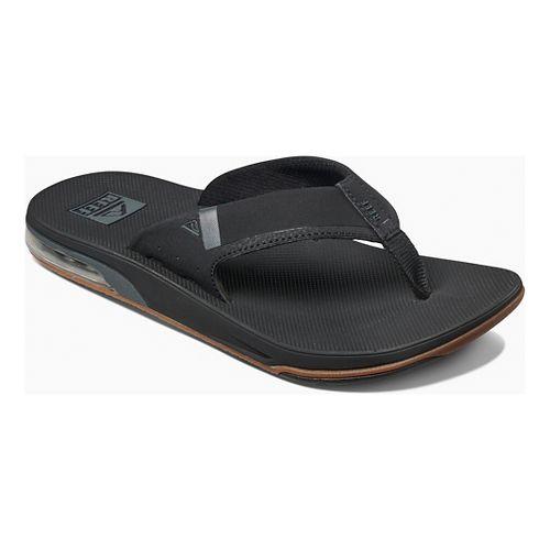 Mens Reef Fanning Low Sandals Shoe - Black 10