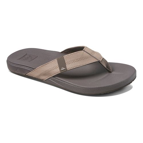 Mens Reef Cushion Bounce Phantom Sandals Shoe - Brown 14
