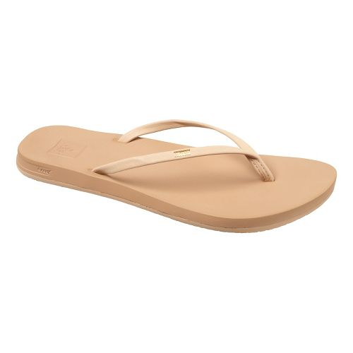 Womens Reef Cushion Bounce Slim Casual Shoe - Nude 11