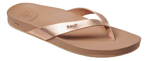 Womens Reef Cushion Bounce Court Sandals Shoe - Rose Gold 7