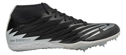 Mens New Balance SD100v2 Track and Field Shoe - Black/White 4.5
