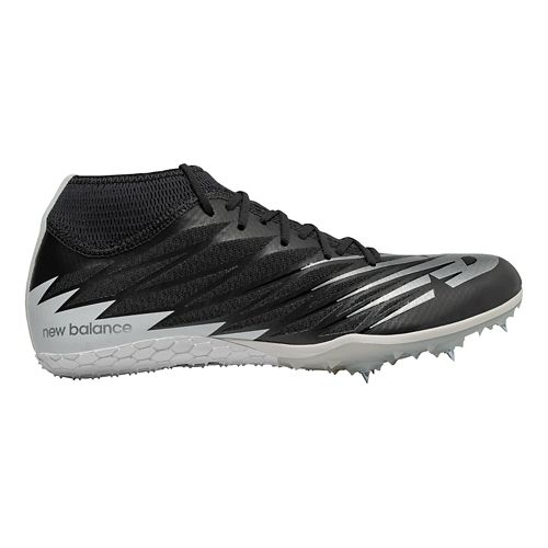 Mens New Balance SD100v2 Track and Field Shoe - Black/White 8