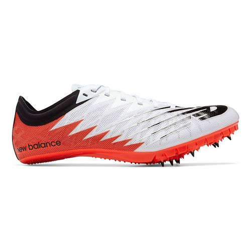 Mens New Balance Vazee Verge Track and Field Shoe - White/Flame/Black 9