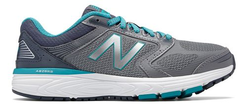 Womens New Balance 560v7 Running Shoe - Silver/Pisces 12