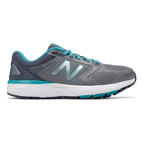 Womens New Balance 560v7 Running Shoe - Silver/Pisces 9.5