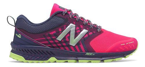 Womens New Balance Nitrel Trail Running Shoe - Dark Cyclone/Pink 7.5
