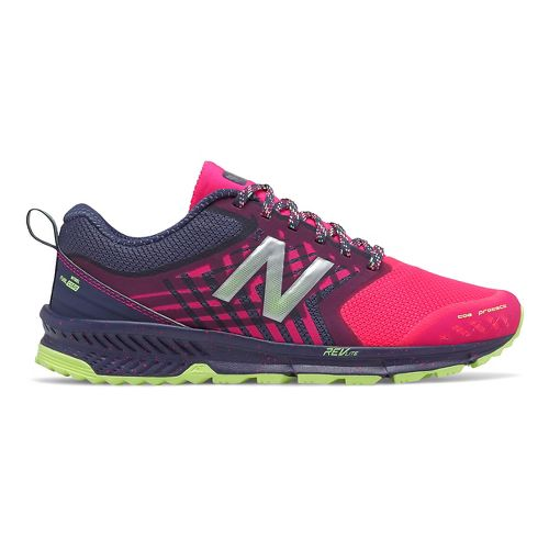 Womens New Balance Nitrel Trail Running Shoe - Dark Cyclone/Pink 11