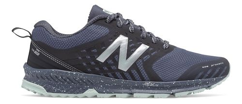 Womens New Balance Nitrel Trail Running Shoe - Thunder/Black 6