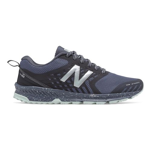 Womens New Balance Nitrel Trail Running Shoe - Thunder/Black 9