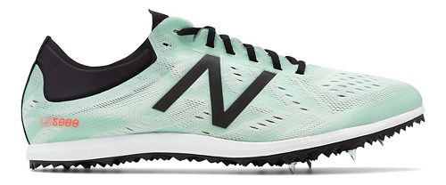 Womens New Balance LD5Kv5 Track and Field Shoe - North Sea/Flame 8