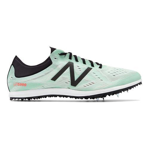 Womens New Balance LD5Kv5 Track and Field Shoe - North Sea/Flame 10