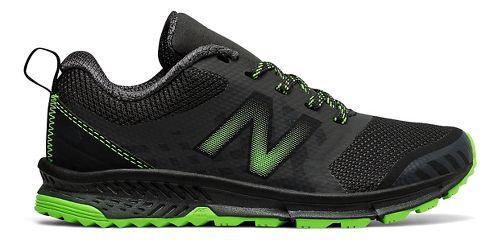 New Balance Nitrel v3 Trail Running Shoe - Black/Lime 13C