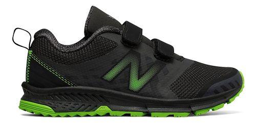 New Balance Nitrel v3 Trail Running Shoe - Black/Lime 12.5C