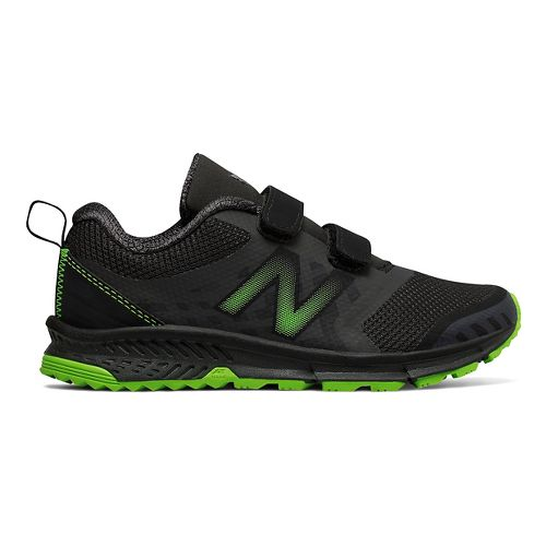New Balance Nitrel v3 Trail Running Shoe - Black/Lime 3.5Y