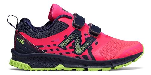 New Balance Nitrel v3 Trail Running Shoe - Pink/Grey 2.5Y