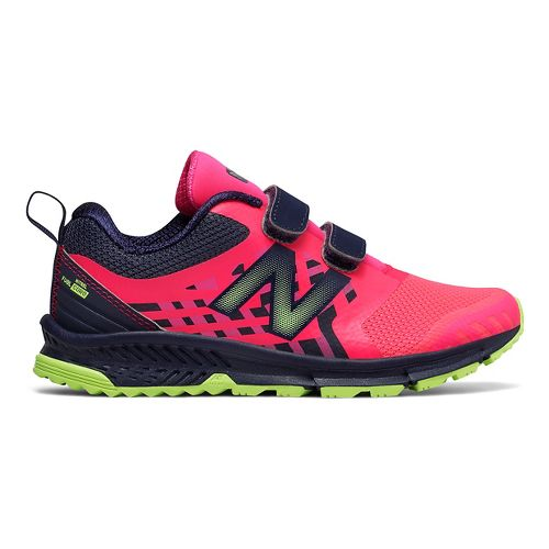 New Balance Nitrel v3 Trail Running Shoe - Pink/Grey 1.5Y