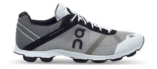 Mens On Cloudrush Running Shoe - Black/White 14