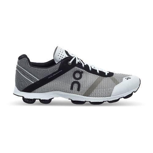 Mens On Cloudrush Running Shoe - Black/White 12.5
