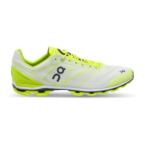 Mens On Cloudflash Racing Shoe - Neon/White 10