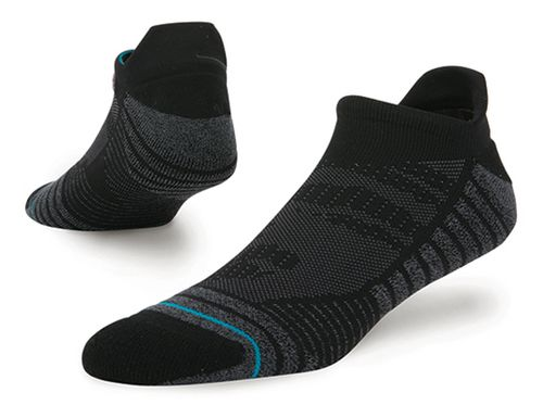 Mens Stance Training Uncommon Solids Tab Socks - Black L