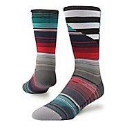 Mens Stance Barder Crew Socks - Multi L