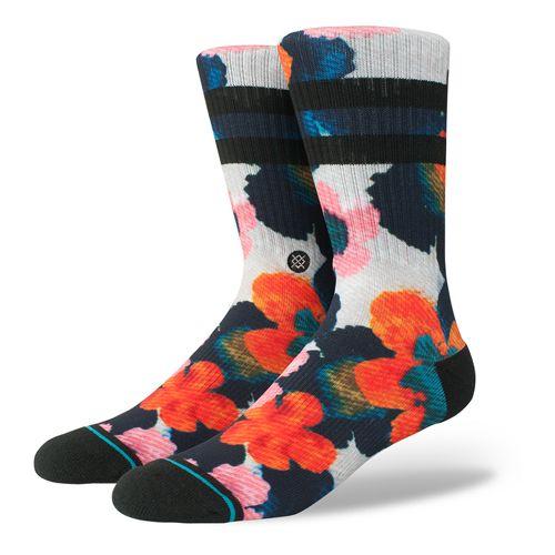 Mens Stance Frangipani Crew Socks - Multi L