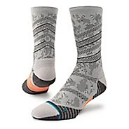 Mens Stance Aspire Crew Socks - Grey M