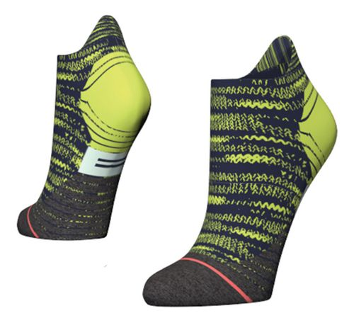 Womens Stance Distance Run Tab Socks - Green S