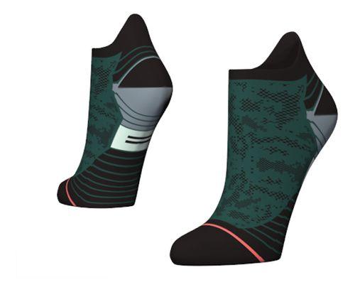 Womens Stance Interval Run Tab Socks - Green S