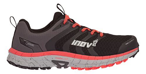 Womens Inov-8 Parkclaw 275 GTX Trail Running Shoe - Black/Coral 5.5