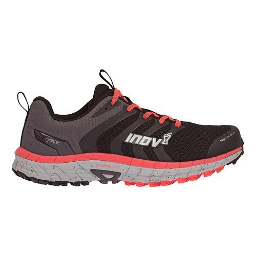Womens Inov-8 Parkclaw 275 GTX Trail Running Shoe - Black/Coral 6