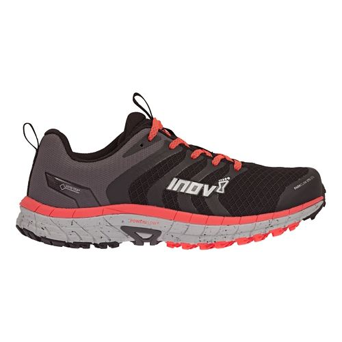 Womens Inov-8 Parkclaw 275 GTX Trail Running Shoe - Black/Coral 6.5