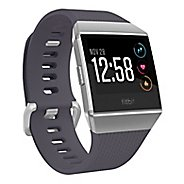 Fitbit Ionic Wristband Monitors - Blue Grey/Silver Grey