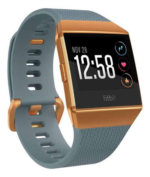 Fitbit Ionic Wristband Monitors - Blue/Orange