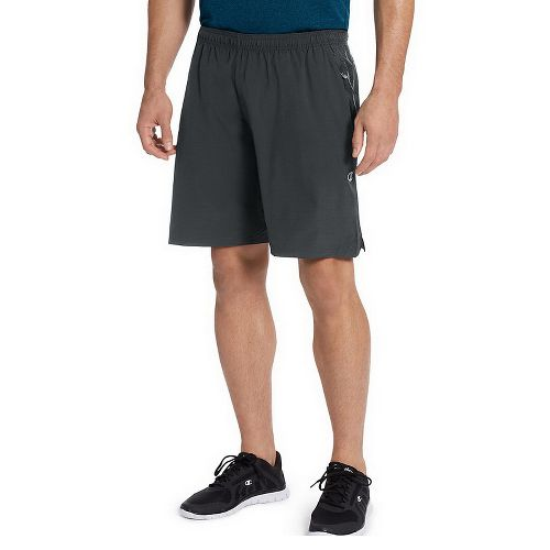 Mens Champion 365 Train Unlined Shorts - Stealth L