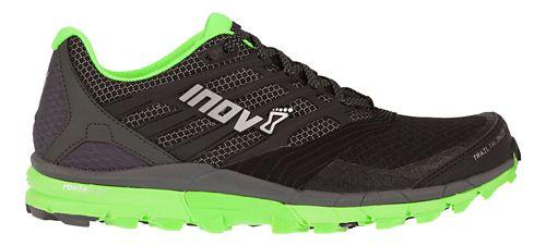 Mens Inov-8 Trail Talon 275 Running Shoe - Black/Green 13