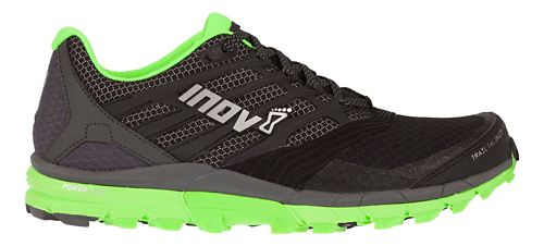 Mens Inov-8 Trail Talon 275 Running Shoe - Black/Green 9.5