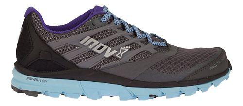 Womens Inov-8 TrailTalon 275 Running Shoe - Grey/Blue/Purple 7.5