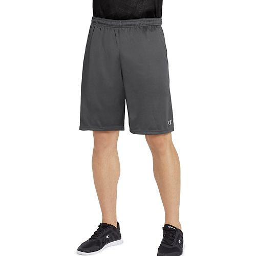 Mens Champion Vapor Select Unlined Shorts - Shadow Grey S