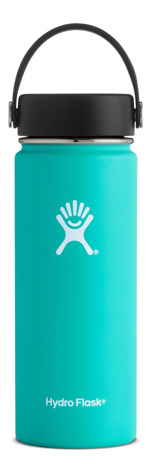 Hydro Flask 18 ounce Wide Mouth Bottle Hydration - Mint