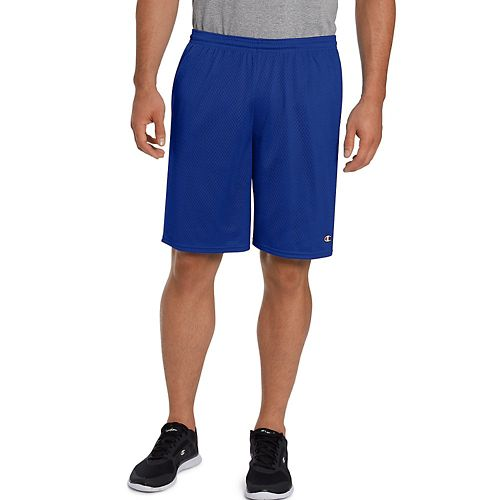 Mens Champion Long Mesh with Pockets Unlined Shorts - Surf The Web 3XL